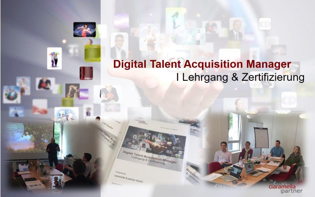 Erfolgreicher Ausbildungsstart zum Digital Talent Acquisition Manager